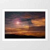 Sunset II Art Print