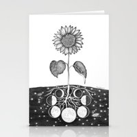 Prāṇa (Life Force) Stationery Cards