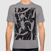 Snowy Forest II Mens Fitted Tee Athletic Grey SMALL
