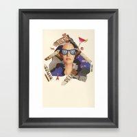 Summer Holiday Countdown Framed Art Print