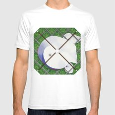 Calla Lilies Mens Fitted Tee SMALL White