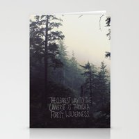Forest Universe II Stationery Cards