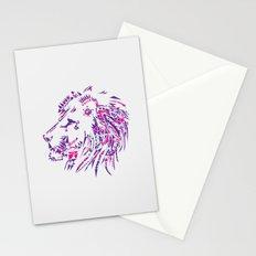 Aztec Lion Stationery Cards