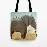 Along For The Ride _ An … Tote Bag