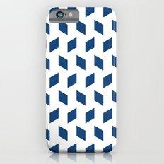 rhombus bomb in monaco blue Slim Case iPhone 6s