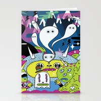 Spooky Spirits  Stationery Cards