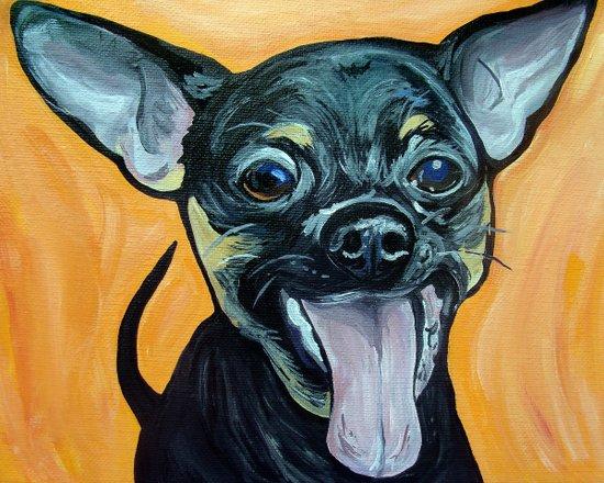 Chihuahua Art Art Print