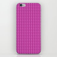3D Pink Pattern iPhone & iPod Skin