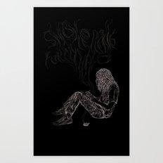 kurt vile t-shirt Art Print