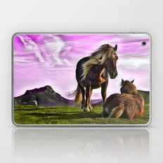 Horses In A Magical Land Laptop & iPad Skin