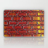 Up against the wall Laptop & iPad Skin