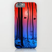 iPhone & iPod Case featuring Mystical forest  by Pirmin Nohr