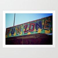 Fun Zone Art Print