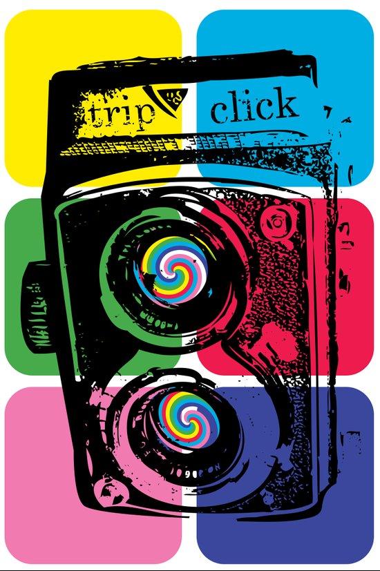 Trip Click Art Print