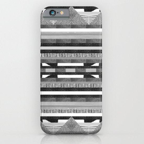 DG Aztec No.2 Monotone iPhone & iPod Case
