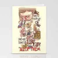Tiny Pieces Stationery Cards