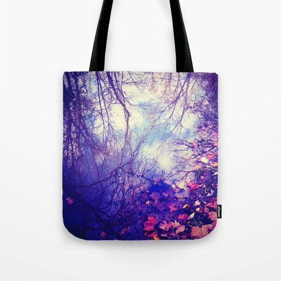 Winter Reflection Tote Bag