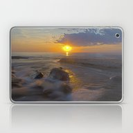 Hurricane Sunset Laptop & iPad Skin