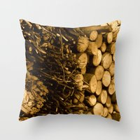 Ready For Winter-time Throw Pillow