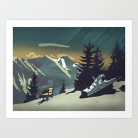 Art Prints featuring Pause by Schwebewesen • Romina Lutz