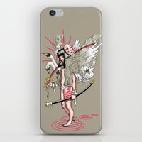 Sword Of The Swans iPhone & iPod Skin