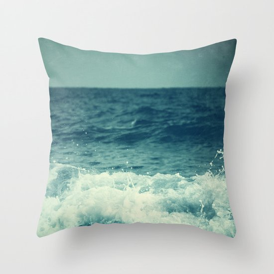 The Sea II. (Sea Monster) Throw Pillow