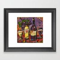 Wine Party  Framed Art Print