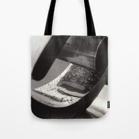Droplets On Metal Tote Bag