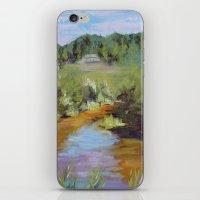 Walk The Lake iPhone & iPod Skin