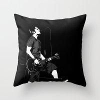 T. S. GS Throw Pillow