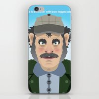 Jaws Quint iPhone & iPod Skin