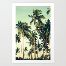 Paradise Print Art Print