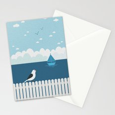 Sitting on the Fence Stationery Cards