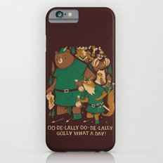 oo-de-lally (brown version) iPhone 6 Slim Case