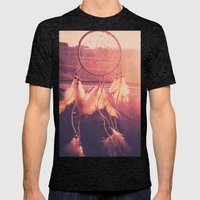Dream Catcher Mens Fitted Tee Tri-Black SMALL