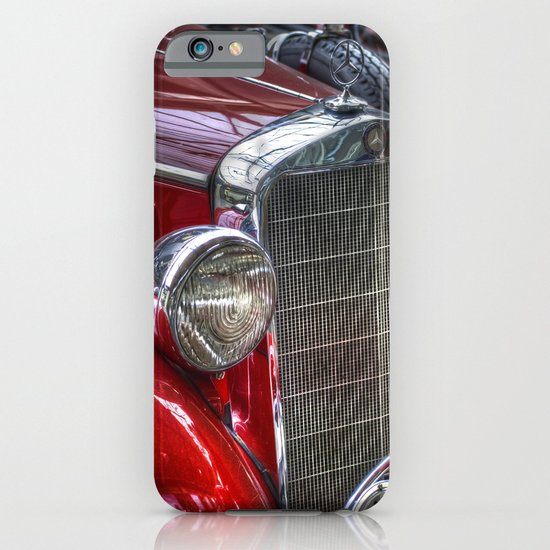 Old Merc red iPhone & iPod Case