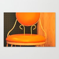 Lone Chair Canvas Print