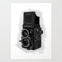 Roleiflex Art Print