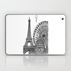 Paris Silhouettes Laptop & iPad Skin
