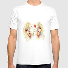 My Reality Mens Fitted Tee White SMALL