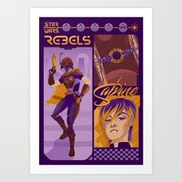 Rebel 1: Sabine Wren Art Print