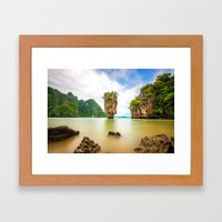 James Bond Island Framed Art Print