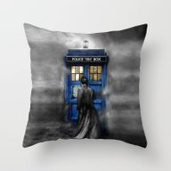Tardis Doctor Who Lost I… Throw Pillow