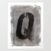 - Q - Art Print