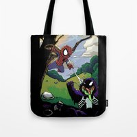 Kid Spidey Tote Bag