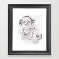 Nuffin  Framed Art Print