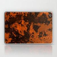 Galaxy in Orange Laptop & iPad Skin