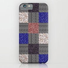 Patchwork Pattern iPhone 6s Slim Case