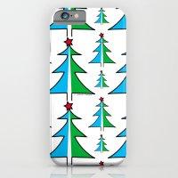 Christmas Tree Pattern iPhone 6 Slim Case