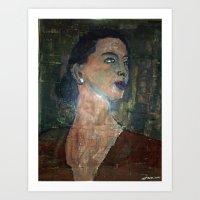 NORINA RADOVAN A CROATIA… Art Print